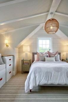 Comfy Attic Bedroom Design And Decoration Ideas 25