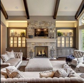 Cool Rustic Living Room Decor Ideas For Your Home 21
