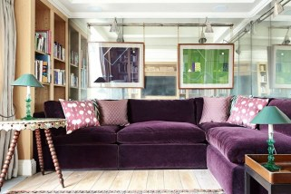 Cute Purple Living Room Design You Will Totally Love 08