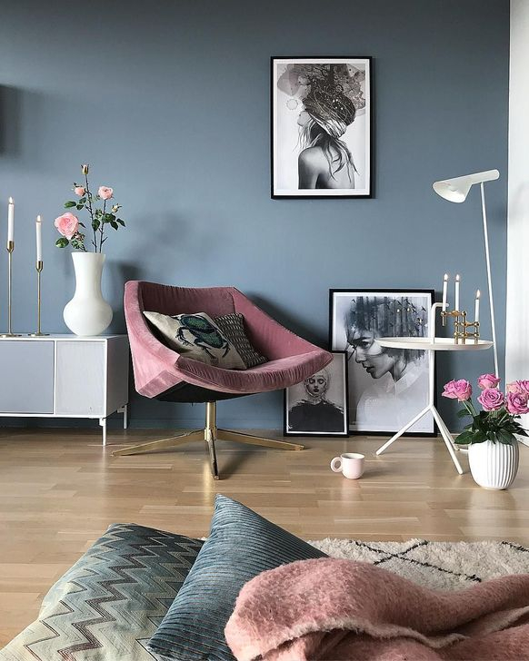 Cute Purple Living Room Design You Will Totally Love 21