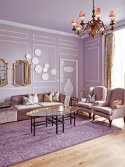 Cute Purple Living Room Design You Will Totally Love 27