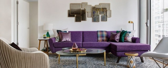 Cute Purple Living Room Design You Will Totally Love 31