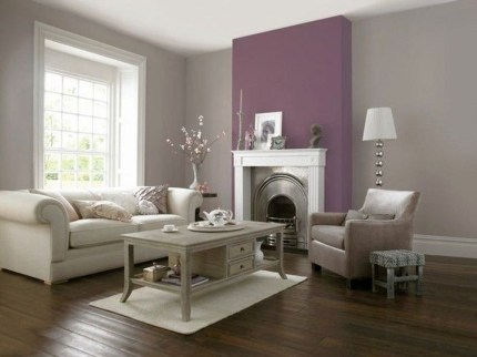 Cute Purple Living Room Design You Will Totally Love 44
