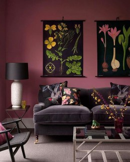 Cute Purple Living Room Design You Will Totally Love 45