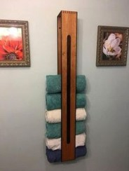 Easy DIY Towel Racks Ideas That You Can Do This 18