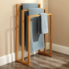 Easy DIY Towel Racks Ideas That You Can Do This 20