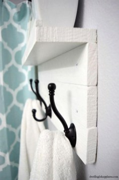Easy DIY Towel Racks Ideas That You Can Do This 45