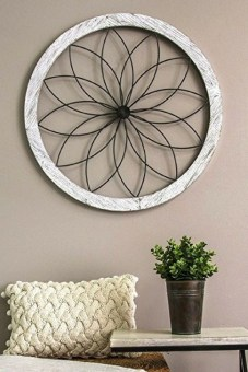 Fabulous Metal Wall Decor Ideas For Your Living Room 10