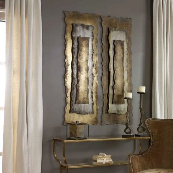 Fabulous Metal Wall Decor Ideas For Your Living Room 11