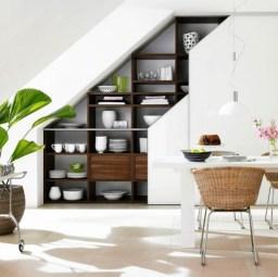 Genius Under Stairs Storage Ideas For Minimalist Home 22