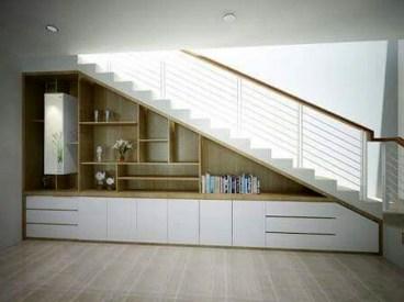 Genius Under Stairs Storage Ideas For Minimalist Home 32