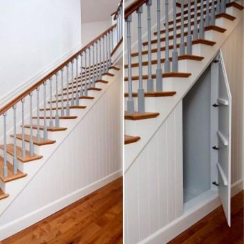 Genius Under Stairs Storage Ideas For Minimalist Home 33