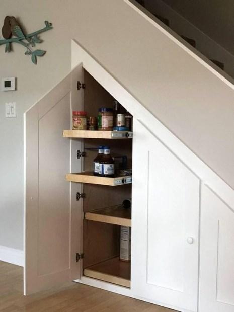 Genius Under Stairs Storage Ideas For Minimalist Home 42