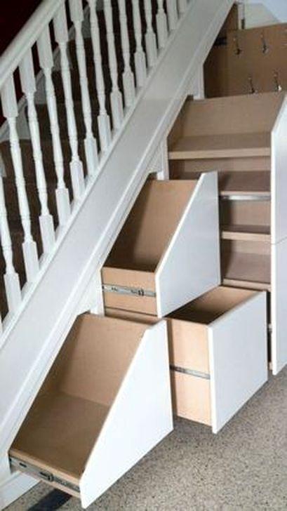Genius Under Stairs Storage Ideas For Minimalist Home 52