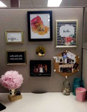 Gorgeous Cubicle Workspace To Make Your Work More Better 04