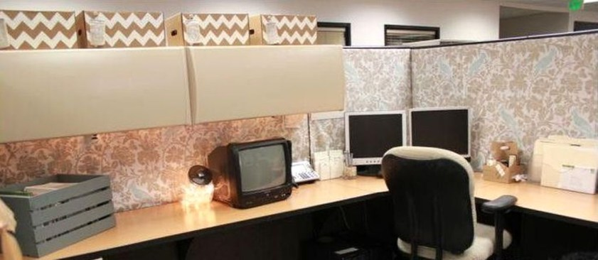 Gorgeous Cubicle Workspace To Make Your Work More Better 33