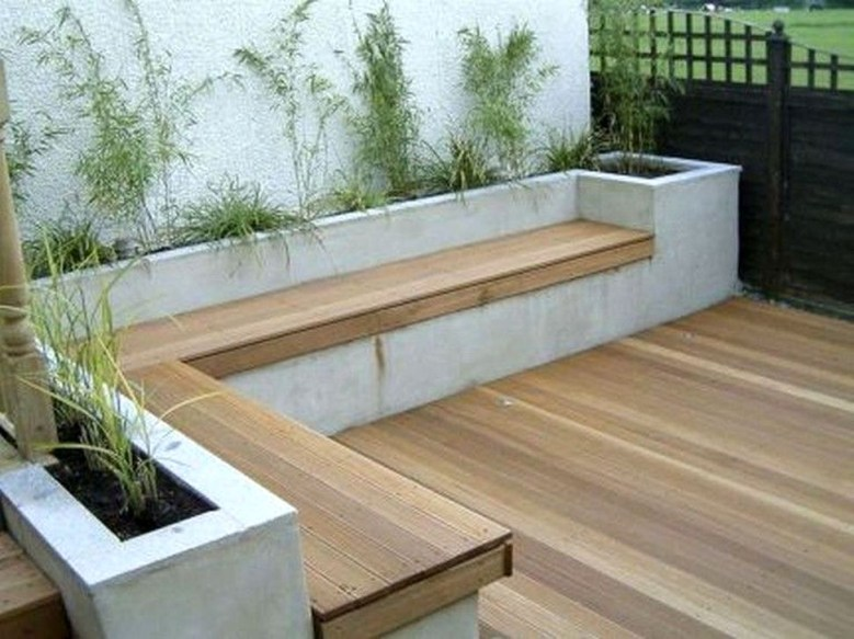 Impressive Seating Area In The Garden For Decoration 04