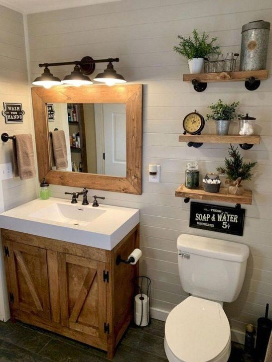 Inspiring Bathroom Design Ideas With Amazing Storage 09