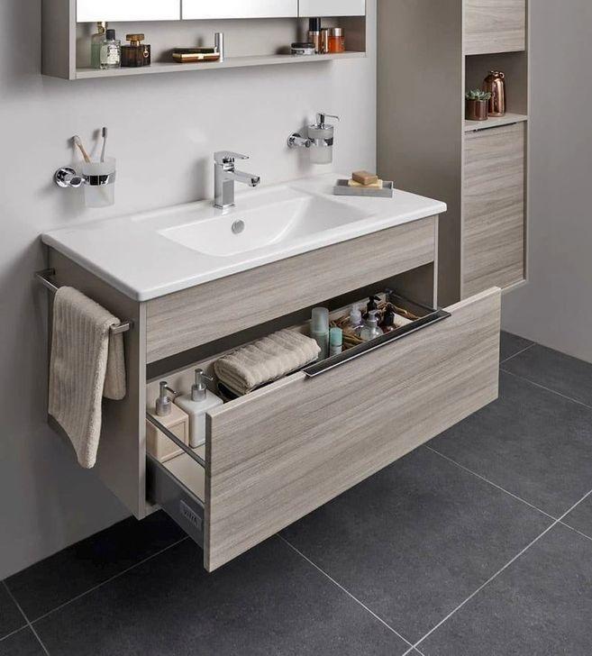 Inspiring Bathroom Design Ideas With Amazing Storage 11