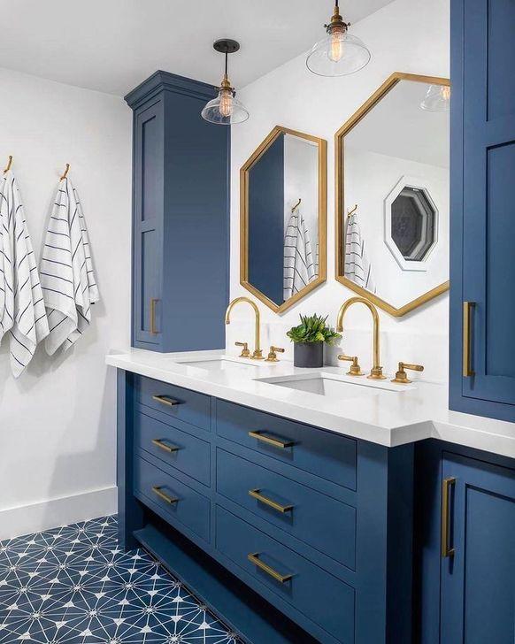 Inspiring Bathroom Design Ideas With Amazing Storage 27