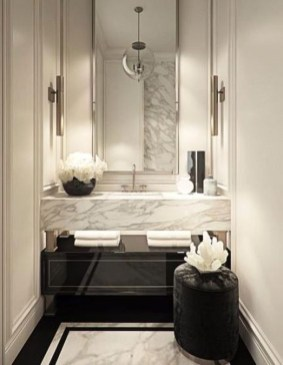 Luxurious Furniture To Upgrade Your Elegant Bathroom 26
