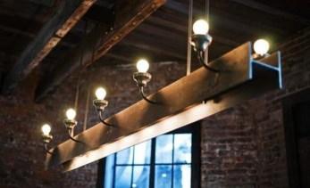 Magnificient Farmhouse Ladder Chandelier Ideas 49