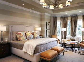 Outstanding Striped Ceiling Bedroom Decoration Ideas 40