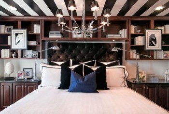 Outstanding Striped Ceiling Bedroom Decoration Ideas 41
