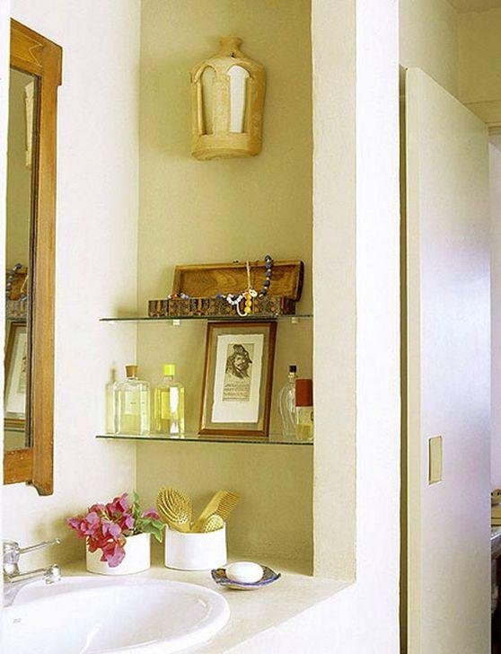 Perfect Glass Shelves Ideas For Bathroom Design 10