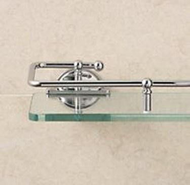 Perfect Glass Shelves Ideas For Bathroom Design 31