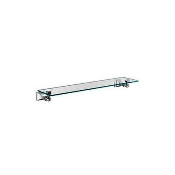 Perfect Glass Shelves Ideas For Bathroom Design 38