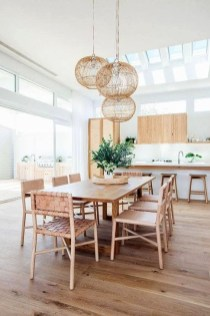 Popular Organic Dining Room Design Ideas 33