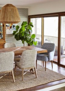 Popular Organic Dining Room Design Ideas 44