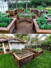 Stunning DIY Garden Bed To Beautify Your Backyard 20