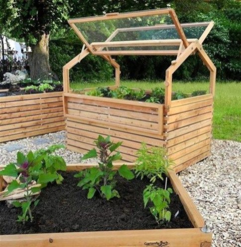 Stunning DIY Garden Bed To Beautify Your Backyard 32