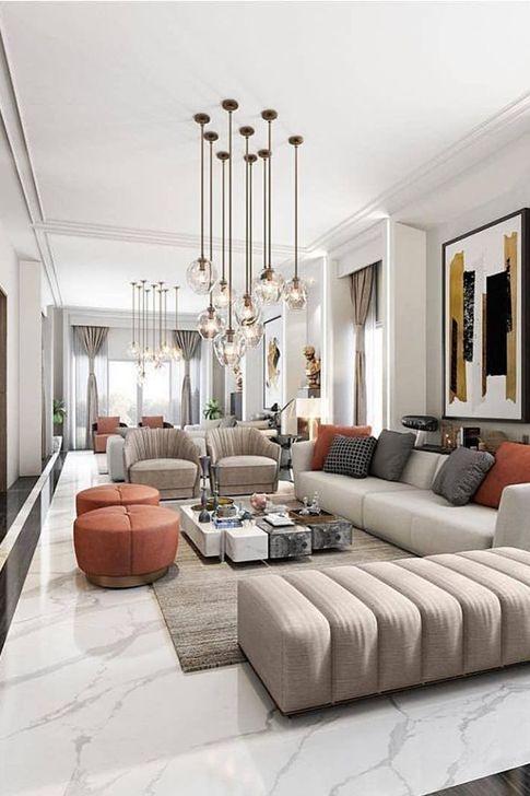Wonderful Lighting Ideas In The Living Room 44