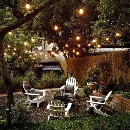 Astonishing Outdoor Lights For Decorating Backyards In Summer 04