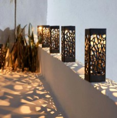 Astonishing Outdoor Lights For Decorating Backyards In Summer 38