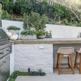 Awesome Kitchen Concrete Countertop Ideas To Inspire 02