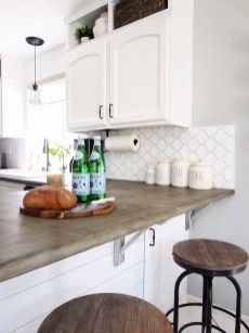 Awesome Kitchen Concrete Countertop Ideas To Inspire 31