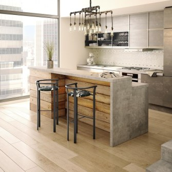 Awesome Kitchen Concrete Countertop Ideas To Inspire 35