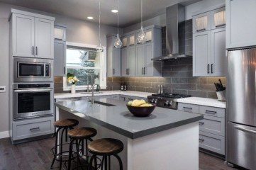 Awesome Kitchen Concrete Countertop Ideas To Inspire 37