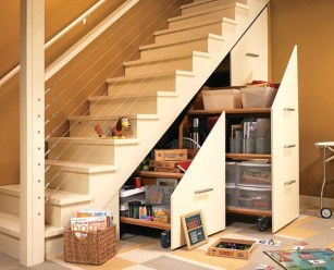 Brilliant Stair Design Ideas For Small Space 05