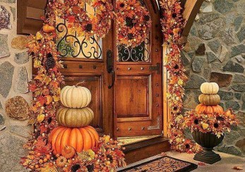 Easy And Simple Fall Garland Decoration Ideas 08