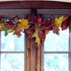 Easy And Simple Fall Garland Decoration Ideas 09