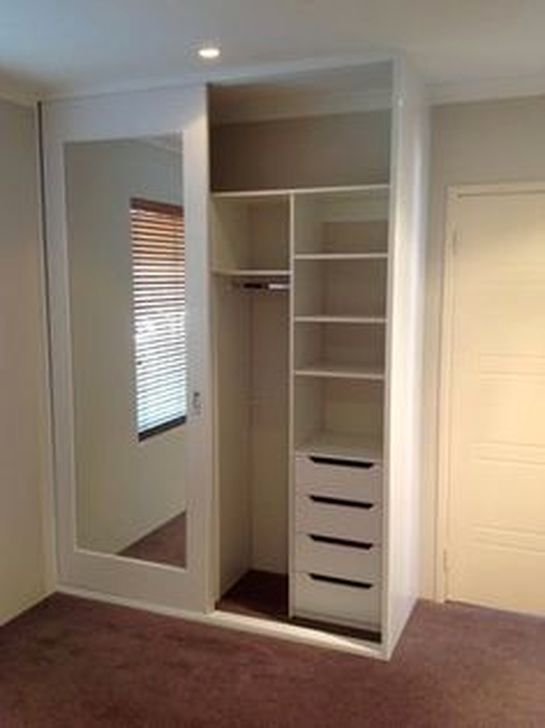 Elegant Wardrobe Design Ideas For Your Small Bedroom 11