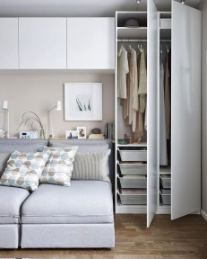 Elegant Wardrobe Design Ideas For Your Small Bedroom 13