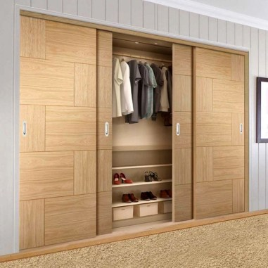 Elegant Wardrobe Design Ideas For Your Small Bedroom 35