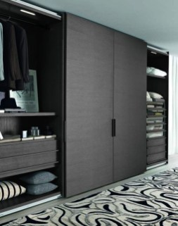 Elegant Wardrobe Design Ideas For Your Small Bedroom 41
