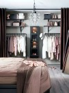 Elegant Wardrobe Design Ideas For Your Small Bedroom 48